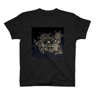 眠気と唾液 T-shirts