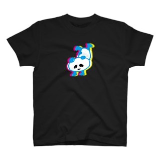 さかだちぱんだ T-shirts