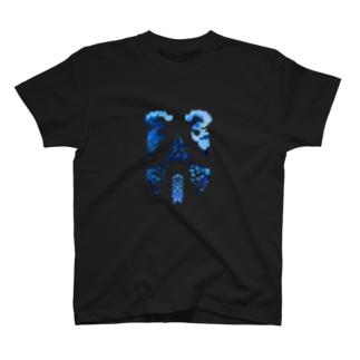 二つの鶏の頭の服 T-shirts