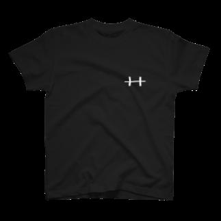 胸筋教の胸筋教(黒) T-shirts