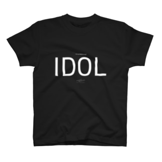 (AV女優は僕の)アイドル 黒 T-shirts