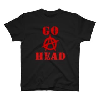 GO AHEAD T-shirts