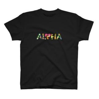 ボタニカルALOHA T-shirts