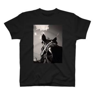馬T-shirt T-shirts