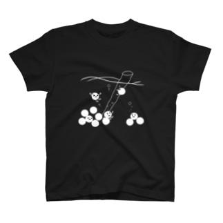 たぴおかーず(白) T-shirts