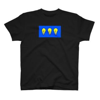 三連電球 T-shirts