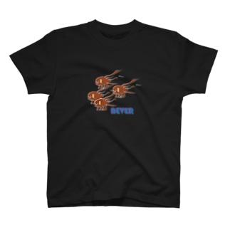 納豆犬(多数) T-shirts