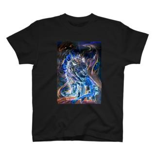 青炎龍Blue fire dragon T-shirts