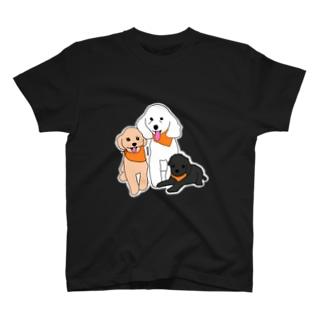 さとうさんdogs T-shirts