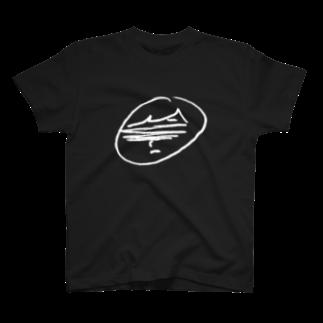 ARuFaの公式グッズ屋さんのARuFaふにゃイラスト(黒・ロゴ無) T-shirts