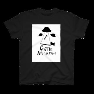 変なグッズ屋さんのCattle mutilations T-shirts