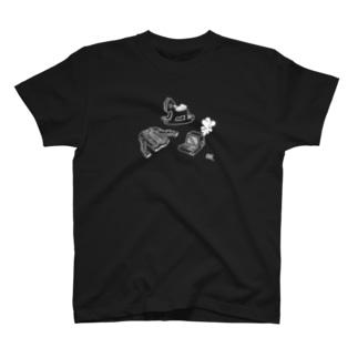 もう帰りません(wht) T-shirts