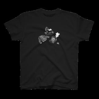 町田メロメのもう帰りません(wht) T-shirts