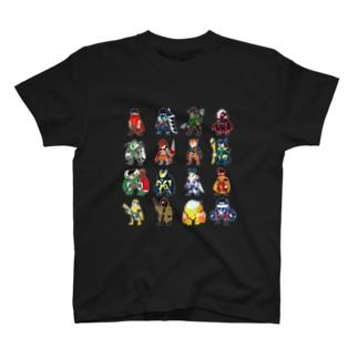 ヒーロー集合 T-shirts