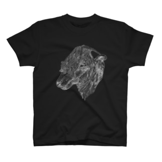 sheep face white T-shirts