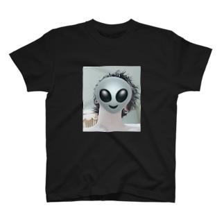 宇宙人(俺) T-shirts