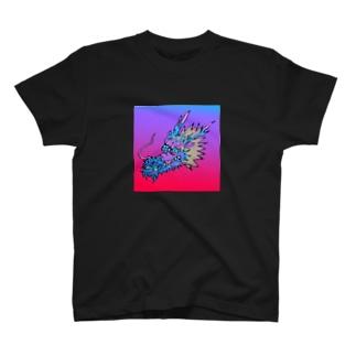 にこやかな龍グラデーション♪ T-Shirt