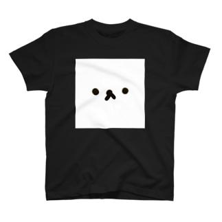何かの顔 T-shirts