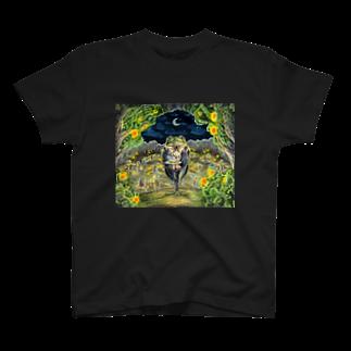 Duchessのカエルのウェイター T-shirts