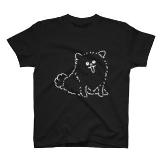 わんちゃん(白) T-shirts