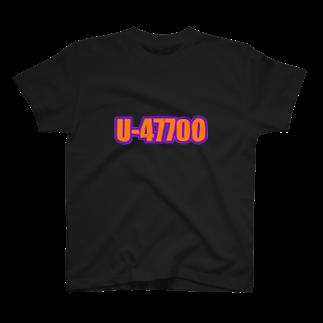 U-47700のU-47700 T-shirts