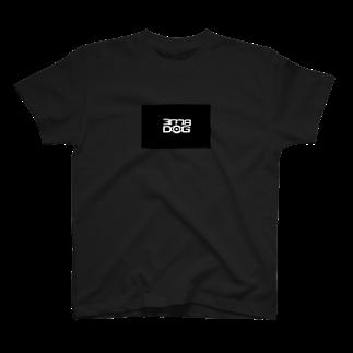 BLUE_DOGのBOXロゴTシャツ T-shirts