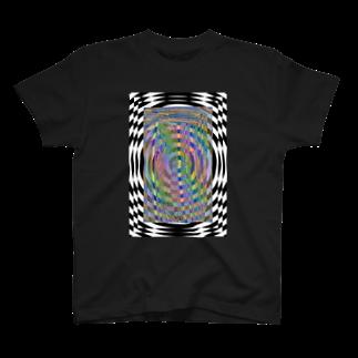 WaxTerKの商品棚のトリップ T-shirts