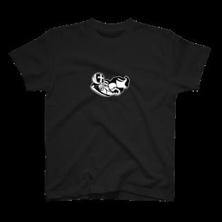 WaxTerKの商品棚の意識不明の宇宙飛行士 T-shirts