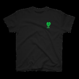 -ishのMUSIC x NEON YELLOW  T-shirts