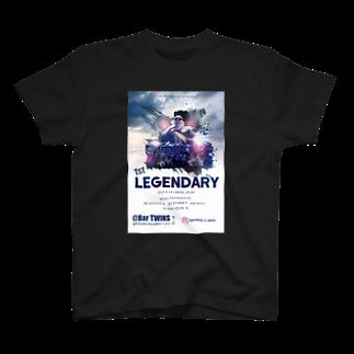 kingyamadaのレジェンダリー Tシャツ T-shirts