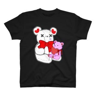 SAKEくま Teddy  T-shirts