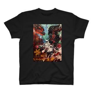 よくろんもののけ T-shirts
