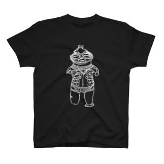 土偶White Ver T-shirts