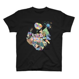 フラッフィー・ミッシュ・マッシュ T-shirts