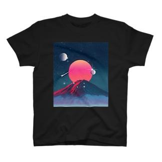 富士山コスモ T-shirts