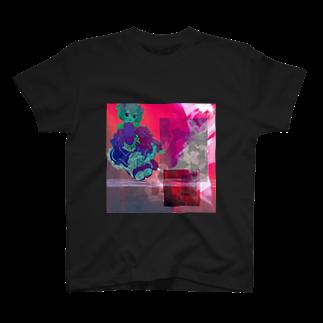 asa-chanのメラメラ T-shirts