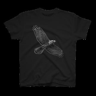 ◆だしのや◆のサシバノワタリ T-shirts
