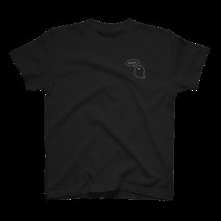 ポン酢のオットセイの黒 T-shirts