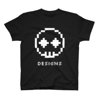 スカル8bit T-Shirt
