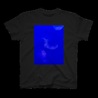 aonananaseのくらげのゆらめきとあお。 T-shirts