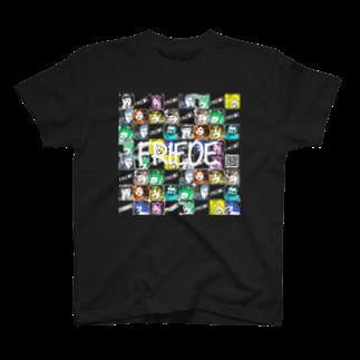 舞/カラスミコフ珍味ちゃん@竜飛岬の作り直しフリーデ T-shirts