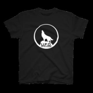UsakichiDesignWorksのU.F.O.【白】 T-shirts