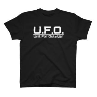 U.F.O.【白】 T-shirts