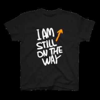 Souzen の道 白文字 T-shirts