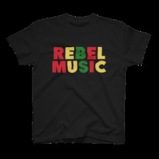 ShineのREBEL MUSIC T-shirts