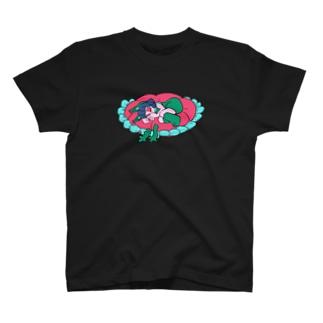 ねころんだ猫子さん T-shirts