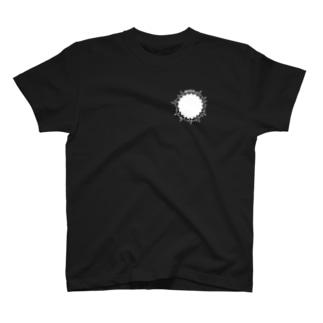 No.1 beginning T black T-shirts