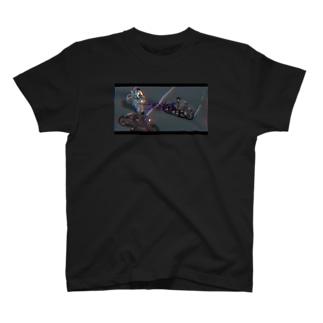 カーチェイス T-shirts