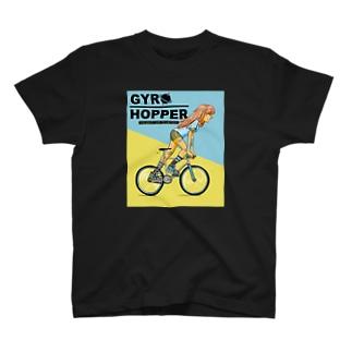 GYRO HOPPER (inked fixie girl) T-shirts