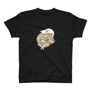 ポールと猫ちゃん T-shirts